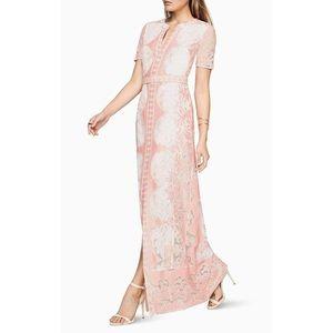 BCBG Maxazria Cailean short sleeve maxi dress